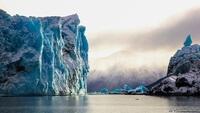 Ледник Перито-Морено, красота голубых льдов