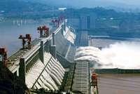 Китайская плотина Три Ущелья (ФОТО)