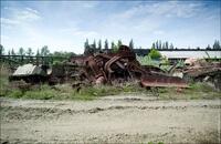 Заброшенное танковое ремонтное депо в Харькове