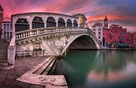 Мост Риальто, Венеция (Италия) Веб камера онлайн