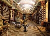 Клементинум — национальная библиотека в стиле Барокко (Прага)