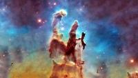 Столпы творения (фото телескопа Хаббл)