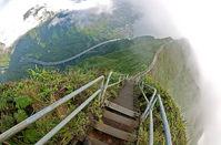 Лестница Хайку – запретный маршрут в облака