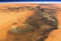 Структура Ришат — глаз Сахары