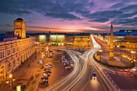 Площадь Восстания Веб камера онлайн Санкт-Петербург