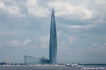 Лахта Центр (Lakhta Center) — самый высокий небоскреб России и Европы