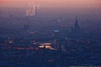 Панорамы Москвы в лучах рассвета (18 ФОТО)