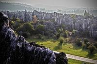 Каменный лес в провинции Юньнань