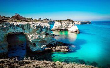 Полуостров Саленто – земля двух морей