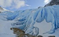 Норвежский ледник Свартисен (Svartisen)