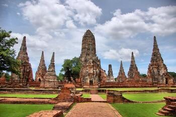 Топ 10 достопримечательностей Аюттхая, Таиланд