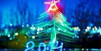 Новый Год 2014: Синяя Деревянная Лошадь