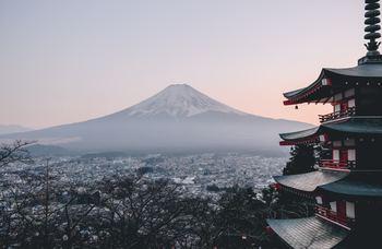 Вулкан Фудзияма — визитная карточка Японии