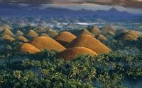 Шоколадные холмы на острове Бохол (Philippine Chocolate Hills)