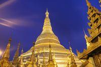 Буддистский храмовый комплекс Шведагон (Shwedagon Pagoda)