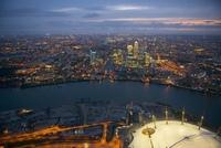 Лондон с высоты самолета (ФОТО)