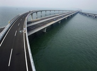 Циндаоский мост: от Циндао до Хуангао