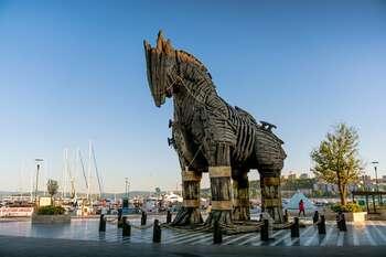 Чанаккале — турецкий город-порт