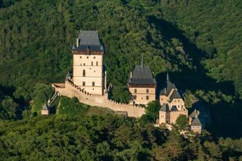 Дворцы и замки Чехии. Карлштейн, Фридланд и Сихров