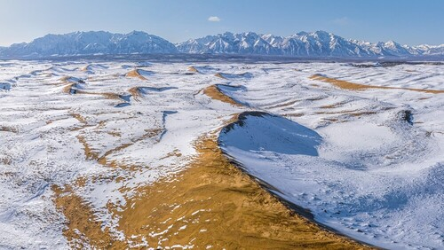 Чарские пески — настоящая пустыня среди гор Забайкалья