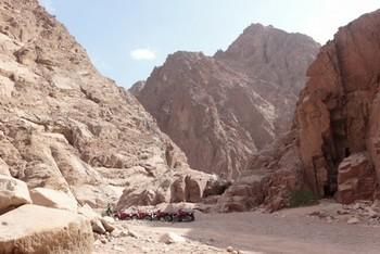 Дахаб — маленький курортный город в Египте