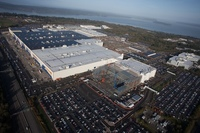 Boeing Everett Factory — крупнейшее производственное здание в мире