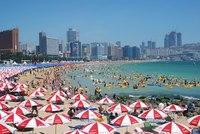 Южнокорейский пляж на 2 миллиона человек (Хэундэ)