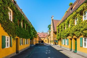 Квартал Фуггерай: социальное жилье за 1 гульден (0.88 евро в год)