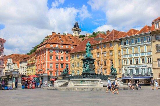 Город Грац, Австрия. Что посмотреть, фото и достопримечательности