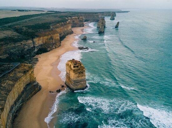 Великая океанская дорога – памятник Австралии (Great Ocean Road)