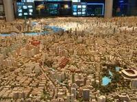 Невероятно большая модель Шанхая (фото)