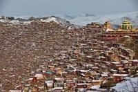 Буддийская Академия: Ларунг Гар в Тибете
