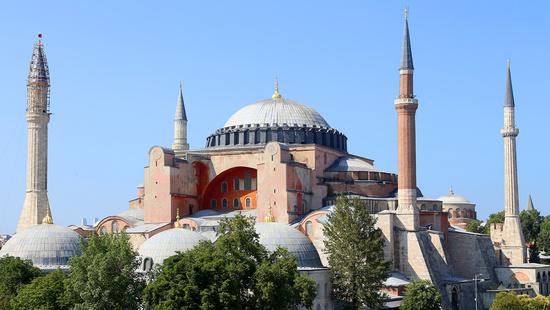 Большая мечеть Айя-София (или Собор Святой Софии из Константинополя)