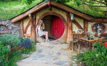Хоббитон – достопримечательность Новой Зеландии, где снимался Властелин Колец