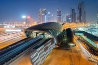 Метро Дубая (фото)