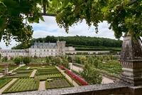 Сады замка Вилландри (долина Луары)
