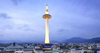 Киотская башня — современный ориентир Киото