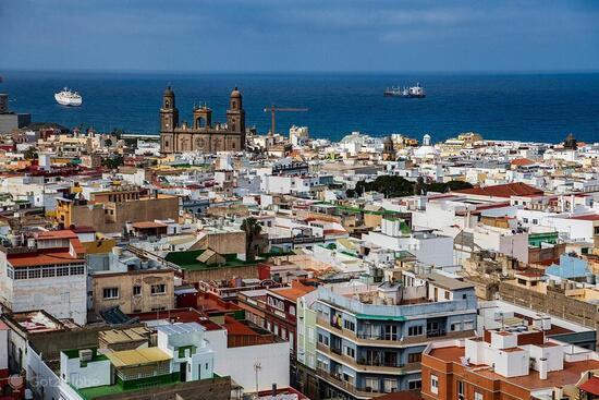 Лас-Пальмас-де-Гран-Канария: испанский город-порт в составе архипелага Канарские острова