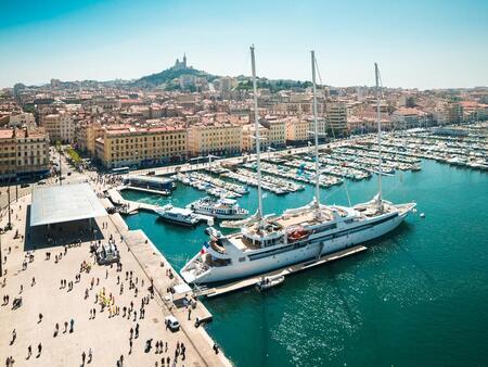 Марсель — старинный город и крупнейший порт во Франции