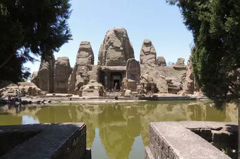 Храмы Масрура, неизведанное чудо Индии (Masrur Temples)
