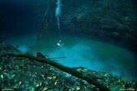 Подводная река в Мексике