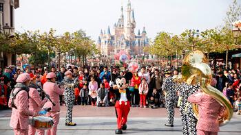Диснейленд в Шанхае (Shanghai Disneyland)