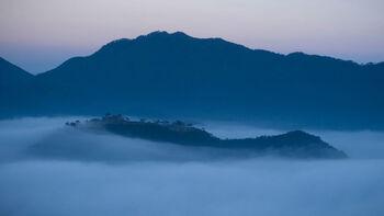 Руины Такэда — замок плывущий в небе
