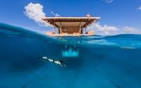 Отель на дне океана Курорт Рангали, Мальдивы