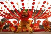 Проведение Нового Года в Китае