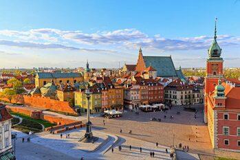 Прогулка по столице Польши. Город Варшава