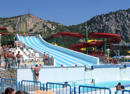 Самый большой аквапарк Крыма. Рейтинг аквапарков Крымского полуострова