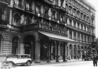 Кайзерхоф: первая берлинская гостиница класса люкс