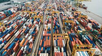 40 000 000 контейнеров в год! Самые огромные морские порты мира