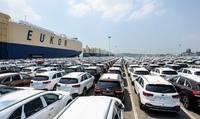 Крупнейший автомобильный завод мира в Южнокорейском городе Ульсан
